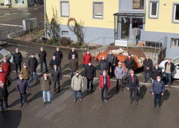 """Alterswehr-Chefs konnten am """"Impfpilotprojekt"""" in Rottweil teilnehmen. Foto: fw"""