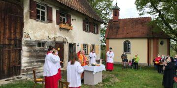 Auf Maria Hochheim wird am Sonntag Gottesdienst gefeiert.          Foto: Freundeskreis MH