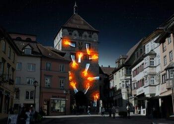 Das Schwarze Tor wird am 18. und 19. September zum Zentrum einer Kunstaktion. Foto: Forum Kunst