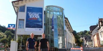 Die Chefs des Ingenieurbüros DMTcreaktiv: Stefan Weinmann und Volker Gruber. Foto: pm