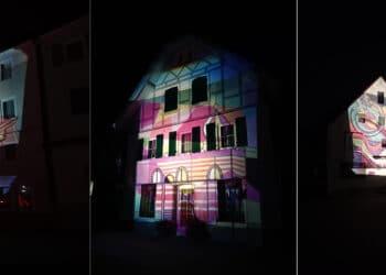 Von der Kirchtorstraße bis zum Alten Rathaus, von der Hauptstraße bis zur Lindenstraße und auf dem Schuhmarkt wird sich Oberndorf in eine große Freilichtgalerie verwandeln. Fotos: pm