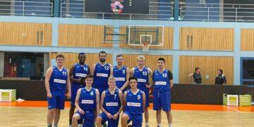 Die Basketballmannschaft des SG Schramberg haben ihr erstes Freundschaftsspiel nach monatelanger Corona-Pause in Schwenningen gewonnen. Foto: Verein
