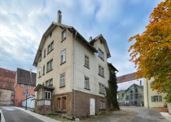 Neues Projekt der ehemaligen Bürgerinitiative Kapuziner Rottweil: das Haus Oberamteigasse 10 in der Innenstadt. Foto: gg