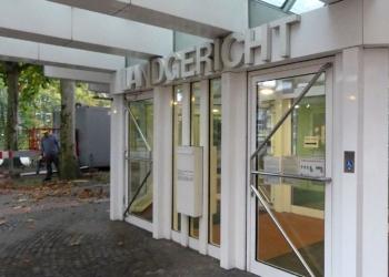 Landgericht in Münster. Foto: him